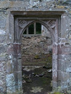 Doorway at Llanfihangel Ysceiflog Church