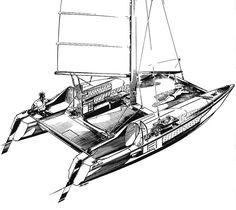 Modern hirondelle - Page 5 - Boat Design Forums