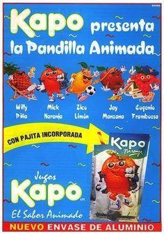 Kapo - Pandilla Animada - Con pajita incorporada - El Sabor Animado - Jugosa Kapo - Willy Piña - Mick Naranja - Zico Limón - Jay Manzana - Eugenio Frambuesa