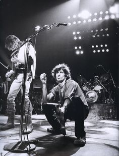 Keith Richards and Ronnie Wood (1979.)  © Photo by Michael Putland.