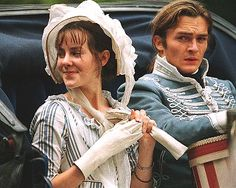 Jena Malone and Rupert Friend, Lydia and Wickham, Pride and Prejudice, 2005