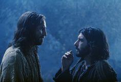 Judas' kiss of the betrayal.