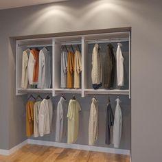 Modular Closets 7 Ft Closet Organizer System 84 Inch Style E
