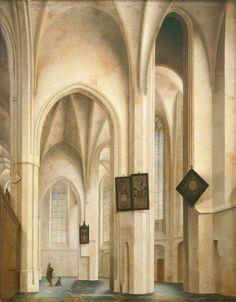 Das Innere der St. Jakobs-Kirche in Utrecht (M+) | DIE PINAKOTHEKEN