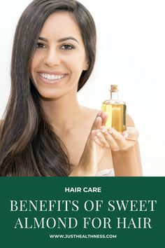 Benefits Of Sweet Almond For Hair Biotin For Hair Loss, Oil For Hair Loss, Hair Loss Shampoo, Stop Hair Loss, Biotin Hair, Hair Loss Causes, Prevent Hair Loss, Vinegar For Hair, Best Hair Oil