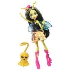 WANTED: Monster High Garden Ghouls Winged Critters Beetrice Doll