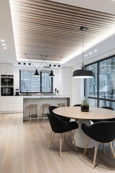 House Interior In Pavilniu Regioninis Parkas by Dizaino Virtuve | Living space