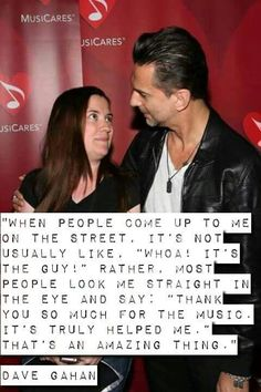 Yeah, that's right, Mr. G! <<<love you ❤❤❤❤ #DepecheMode #quotes