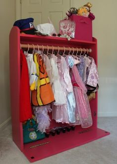Dress up storage puppet theater do it yourself home projects dress up storage puppet theater solutioingenieria Gallery