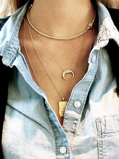 jewelry trends 2014 via @WhoWhatWear