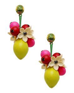 La Hormiga Lemon Earrings.