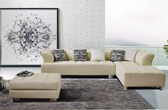 Ivory Color With Left Side Chaise