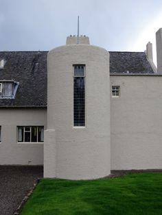 Charles Rennie Mackintosh's Hill House, for Walter Blackie. 1902-1904, Helensburgh, Scotland.