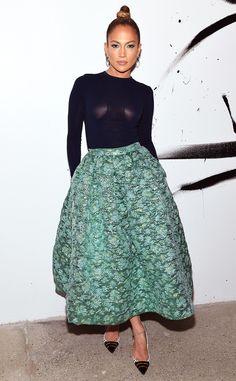 Love this look on Jennifer Lopez!