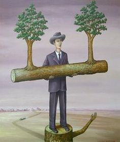 "TEW Galleries: Charles Keiger, ""The Keeper,"" 2008, Oil on wood panel, 14"" x 12"", 20"" x 18"" framed. [CK 571]"