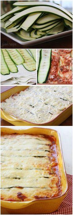 Zucchini Lasagna | Bake a Bite