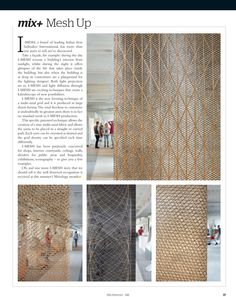 Find I-MESH on Mix Interiors October Issue, page 148. #imesh #mixology #innovation #design #architecture #imeshmktg www.i-mesh.eu