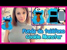 ▶ DIY funda de movil celular de fieltro como el monstruo de las galletas, manualidades faciles - YouTube