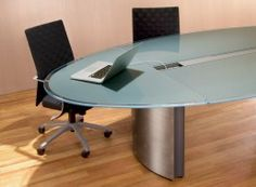 Large boat shaped conference table with alum pedestals and a large boat shaped conference table with alum pedestals and a bluestone top conference room tables pinterest boats pedestal and legs keyboard keysfo Images