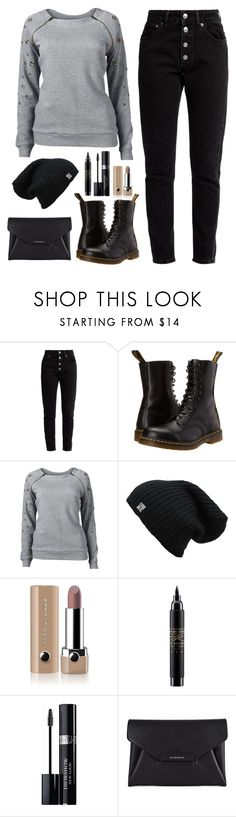 """Chata de Galocha - 05/05/2017"" by jessblock on Polyvore featuring Balenciaga, Dr. Martens, Venus, Marc Jacobs, MAC Cosmetics, Christian Dior and Givenchy"