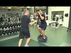NHL Hockey Player: Ethan Moreau - Dryland Hockey Training Workout