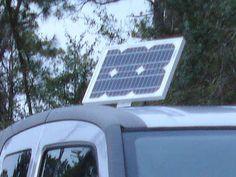Honda Element converted into solar-powered mini-RV!