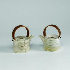 Chris Weaver Made to Measure teapots.