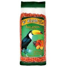 Ração Alcon Eco Club para Tucanos e Araçaris - Meuamigopet.com.br #asas #asa #animais #aves #passaros #meuamigopet