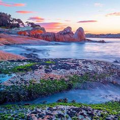 Bicheno  seaside holiday town ...Tasmania