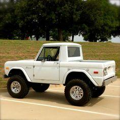 Bronco mini pick up