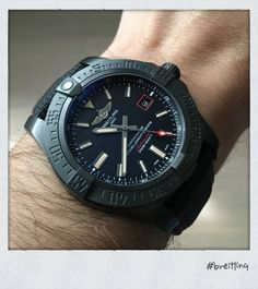 Breitling AVENGER BLACKBIRD 44 -- Какие часы носим сегодня, 42-я серия. -- Часовой форум Watch.ru