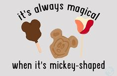 Its always magical when its micky mouse shaped!