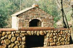 Beehive (round) Brick oven in Greensboro NC | Brick faced wood fired oven by Jamie Oliver.