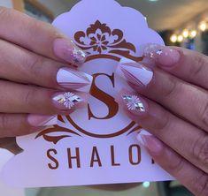 Short Nails, Mochi, Nail Art Designs, Daisy, Ideas, Chic Nails, Perfect Nails, Work Nails, Decorations