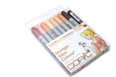 Copic Ciao Marker Pen - 8 Skin Color Set - COPIC IMNGASKN