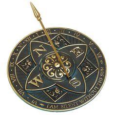 Rosette Sundial