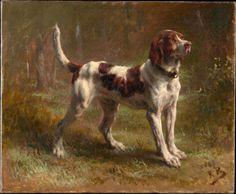 Rosa Bonheur, A Limier Briquet Hound, circa 1856, oil on canvas, Metropolitan Museum of Art, New York
