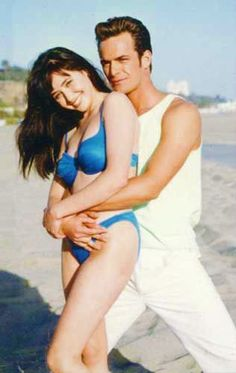 "Shannen Doherty and Luke Perry, ""Beverly Hills 90210"""