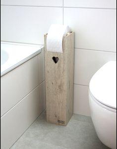 """**Toilettenpapierhalter """"HEART"""", Toilettenpapierständer, Klopapierhalter, H/B/T 60/14/14cm, mit Reservebox für 4 Rollen. Ohne Box für Klobürste. Diese kann gegen 30€ Aufpreis dazu bestellt..."""