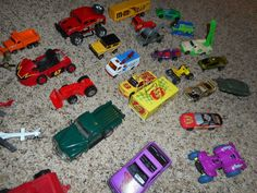 35+pc Vintage 70s,80s & 90s And Up Hot Wheels Matchbox Cars Vehicles Helicopters #HotWheelsMatchbox