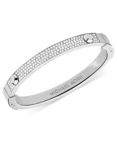 Shop for Silver-Tone Pave Crystal Hinge Bangle Bracelet by Michael Kors at ShopStyle. Gents Bracelet, Mens Diamond Bracelet, Mens Gold Bracelets, Cartier Love Bracelet, Fashion Bracelets, Bangle Bracelets, Fashion Jewelry, Bangles, Women's Fashion