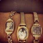wat een leuk idee met het oude horloge van oma