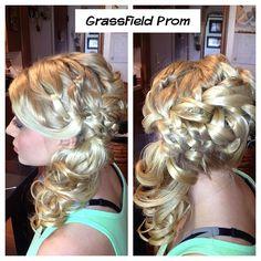 #wedding #updo #bridalhair #highvoltagehairbycrystalcasey #braids #paulmitchell #joico #bride #weddinghair #hair #weddinghairstyle #hairstyle #virginiabeach #formal #prom #promhair