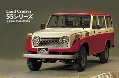 名車ギャラリー ランドクルーザー 55シリーズ