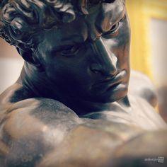 Athlete Wrestling with a Python (detail), Sir Frederic Leighton, Tate Britain, London Statues, Leighton House Museum, Santa Barbara Museum, Tate Britain, Legion Of Honour, Academic Art, Male Figure, Ancient Art, Art Museum
