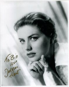 DOLORES HART HAND SIGNED 8x10 PHOTO STUNNING ACTRESS SIGNED TO BILL | eBay