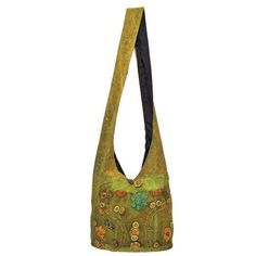 Amazon.com: Red Carpet Studios Hippie Slouch Bag, Flower Green: Arts, Crafts & Sewing