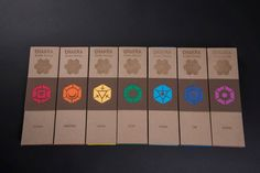Chakra Incense Packaging by Zach Pater