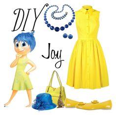 """Jubilant Joy"" by arisa-nightingale ❤ liked on Polyvore featuring Dasein, Giovannio, PrimaDonna, Karen Millen, Honora and Disney"