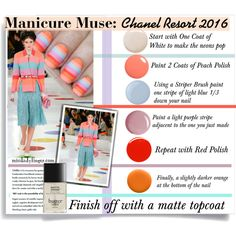 Manicure Muse:Chanel Resort 2016 by bamaannie on Polyvore featuring beauty, Butter London, Topshop, Jin Soon, Deborah Lippmann, Uslu Airlines and Chanel